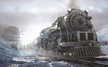 Поезд жизни стихотворение Александра Харина