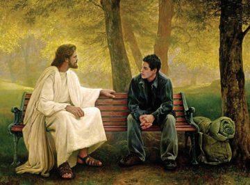 общение Бога с человеком Стих А. Харина