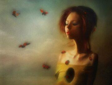 авторская поэзия Харина Дыра в груди